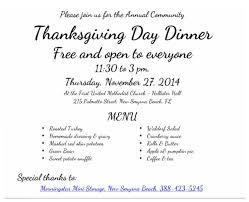 free thanksgiving dinner in new smyrna 2014 volusia