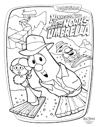 veggie tales coloring pages junior asparagus coloringstar