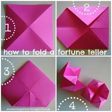 what to write on a paper fortune teller 80s party fortune teller garland 1 cut an 8 5 x 8 5 inch square from your cardstock save the leftover pieces for our next project fold the cardstock into a triangle unfold it and fold