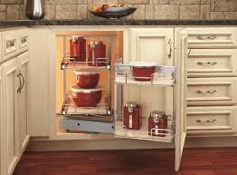 Kitchen Corner Cabinet Solutions by A Spin On The Blind Corner Cabinet Woodworking Network