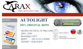 Depo Auto Lamp Indonesia by Skoda Octavia A5 Mk2 Lhd 04 09 Hid Head Lights Lamp Xenon Oem