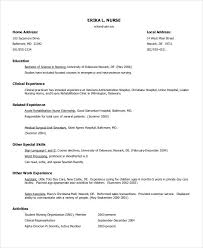 free download resume format example resume format for internship
