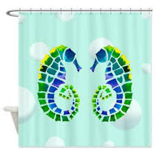 Surfer Shower Curtain Best Seahorse Shower Curtain Products On Wanelo