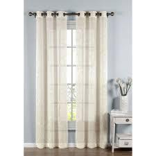 cotton sheer curtains u0026 drapes window treatments the home