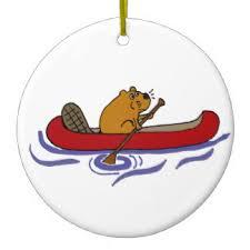 the canoe ornaments keepsake ornaments zazzle