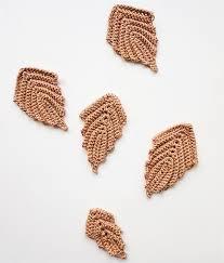 amigurumi leaf pattern crochet embossed leaves little things blogged