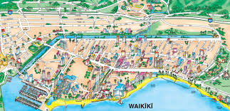map of waikiki maps waikiki map with collection of maps all around the