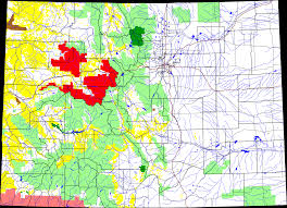 Blm Colorado Map by File White River National Forest Location In Colorado Png