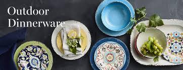 outdoor dinnerware williams sonoma