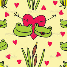Decorative Frogs Seamless Vector Frogs Pattern By Ilgouroux2 Graphicriver