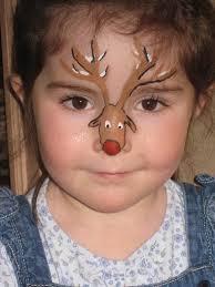 the 25 best reindeer face paint ideas on pinterest deer face