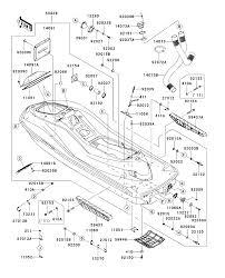 2012 kawasaki ultra 300x jt1500hcf lime green hull parts best