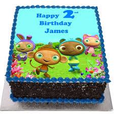 waybuloo birthday cake flecks cakes