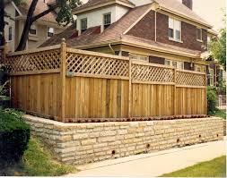 fence no dig fence privacy fence menards wooden lattice