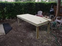 Build Your Own Wooden Patio Table by Outdoor Patio Table Diy Ana White Beautiful Cedar Also Images Of