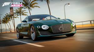 bentley exp speed 8 extraordinary driving awaits in the forza horizon 3 logitech g car