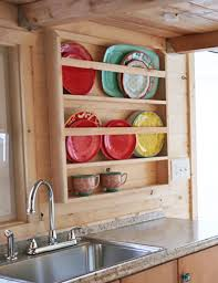 Wood Shelf Plans Diy by Ana White Wooden Plate Rack Plans Diy Projects