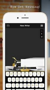 hanx writer on the app store
