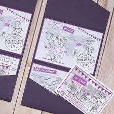 Pocket Fold Invitations Pocketfold World Map Personalised Wedding Invitation By Lovely