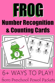 frog lunch free number recognition u0026 counting activities