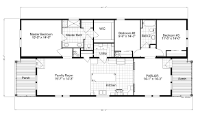 Floor Plans For Large Homes by View Riviera Ii Floor Plan For A 2040 Sq Ft Palm Harbor