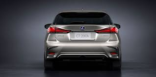 lexus ct 200 h lexus announces updated 2018 ct 200h hatchback lexus enthusiast