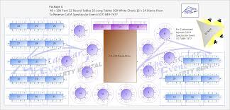 Wedding Reception Floor Plan Template Tent Layouts For 40 U0027 X 100 U0027 Tents