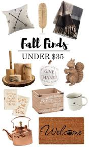 fall finds for home under 35 budgeting autumn and thanksgiving