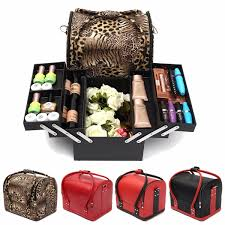 hair and makeup organizer professional large beauty cosmetic organizer box make up storage