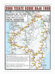 San Felipe Mexico Map by 2008 Score Baja 1000 Preview Motorcycle Usa