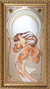 antiker spiegel gold wandspiegel antike spiegel mit rahmen u0026 tiffany spiegel ars mundi