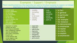 transitions from quote to explanation transition words and phrases ppt video online download