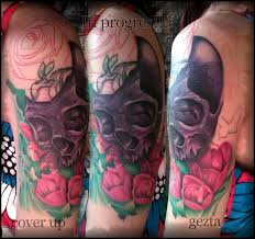 cover up colour skull gezt by