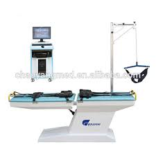 Physical Therapy Treatment Tables by Physical Therapy Electric Cervical And Lumbar Traction Treatment