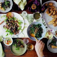 ethnic food dinner menus sunset