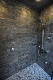 bathroom slate tile ideas another one of hank s but i want the antique roof slate floor in