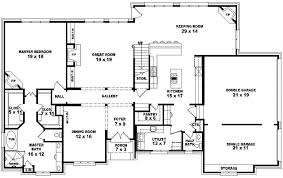 One Level Luxury House Plans One Story 5 Bedroom House Plans Stylish 27 Two Story 4 Bedroom 3