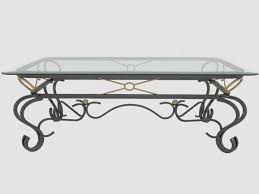wrought iron coffee table with glass top marvellous wrought iron coffee tables with glass top 20 in interior