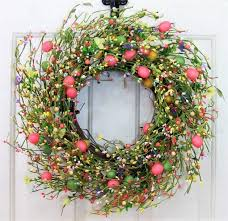 easter wreath charming handmade easter wreath designs for the upcoming