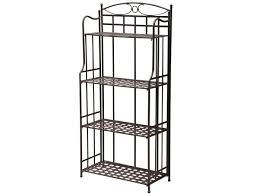 Bakers Rack With Wine Glass Holder Bakers Racks Patio Bakers Rack Rack Patio Bakers