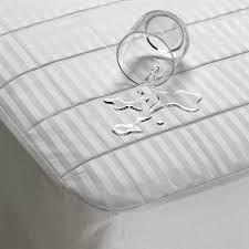 schweitzer linen waterproof u0026 washable mattress pad luxury mattress pads luxury
