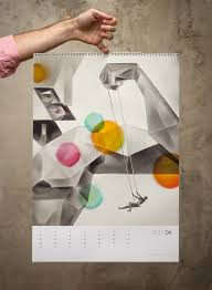 design wall calendar 2015 2015 paweł jońca wall calendar on behance