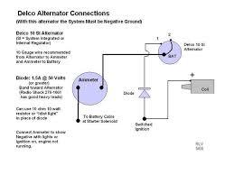 alternator wiring diagram internal regulator u0026 gm alternator