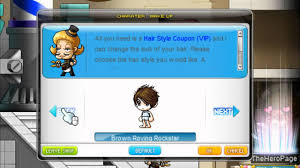 best vip hair cut maplestory maplestory global all male hairstyles youtube