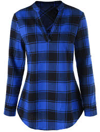 plaid for women cheap casual style online free shipping at