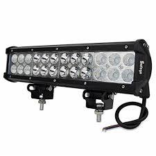 led tractor light bar amazon com safego 12 inch 72w led off road light bar for trucks 4x4