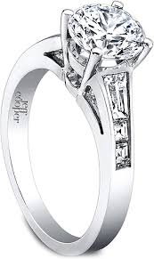 diamond ring cuts jeff cooper engagement ring with tapered baguettes square