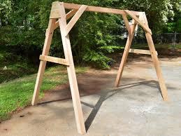 cedar a frame porch swings patio swings swing beds