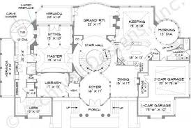 First Floor House Plan Park Place Traditional House Plans Luxury House Plans