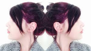 dying my hair dark plum purple using live xxl ultra violet youtube